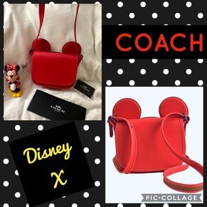 🎪Coach Disney X Mickey Ears Patricia Crossbody🎪
